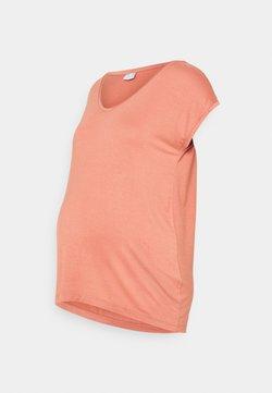 Pieces Maternity - PCMBILLO TEE SOLID - Camiseta básica - rose