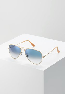 Ray-Ban - 0RB3025 AVIATOR - Solbriller - gold crystal gradient light blue