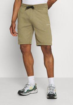 Calvin Klein - SMALL LOGO - Shorts - green