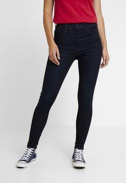 Wrangler - HIGH RISE - Jeans Skinny Fit - blue black