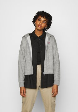 Levi's® - ZIP SKATE HOODIE - veste en sweat zippée - smokestack heather