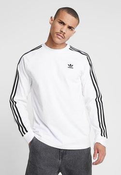 adidas Originals - 3 STRIPES UNISEX - Pitkähihainen paita - white