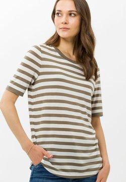 BRAX - STYLE COLETTE - T-Shirt print - khaki