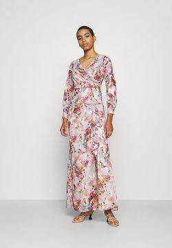 Adrianna Papell - FLORAL PRINTED GOWN - Robe de cocktail - rose/multi