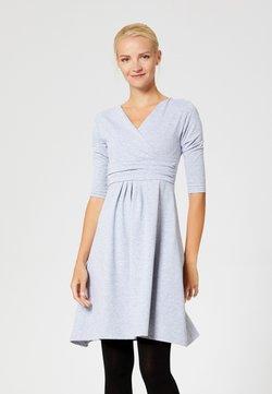 usha - Jersey dress - gray melange