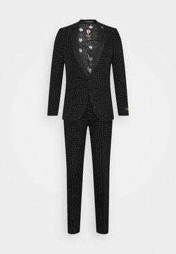 Twisted Tailor - HORLEY SUIT - Anzug - charcoal