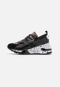 Steve Madden - CLIFF - Sneakers laag - black/gold
