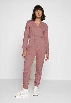 Missguided Petite - NOTCH LOOP BACK - Combinaison - pink