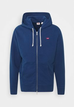 Levi's® - NEW ORIGINAL ZIP UP - veste en sweat zippée - blues