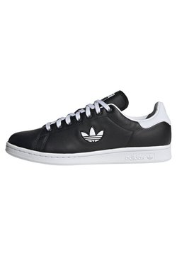 adidas Originals - STAN SMITH SHOES - Sneaker low - black/white