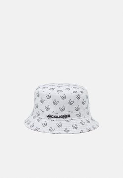 Jack & Jones - JACDOG BUCKET HAT - Hat - white