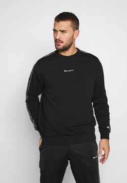 Champion - TAPE CREWNECK - Sweater - black