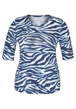 Rabe 1920 - MIT ANIMAL-PRINT UND STRASS-STEINEN - T-Shirt print - dunkelblau
