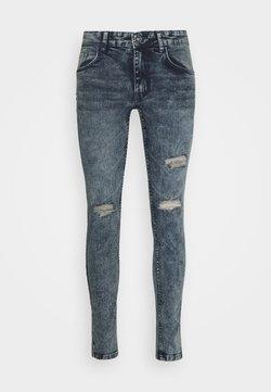 Redefined Rebel - Slim fit jeans - dull navy