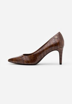 s.Oliver BLACK LABEL - COURT SHOE - Klassieke pumps - cognac