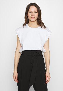 Notes du Nord - PORTER - T-Shirt basic - white