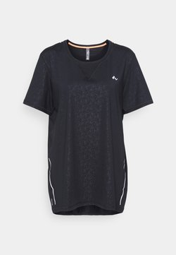 ONLY Play - ONPDAMMAN TRAIN TEE  - Funktionsshirt - black