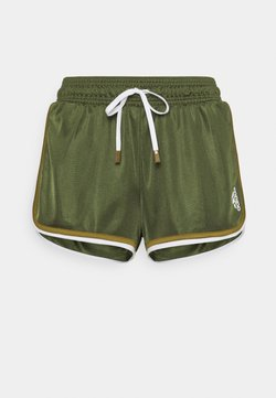 adidas Performance - CLUB SHORT - kurze Sporthose - wild pine/white