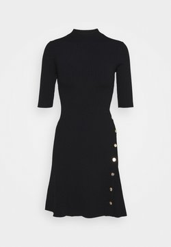 maje - ROSEA - Sukienka dzianinowa - noir