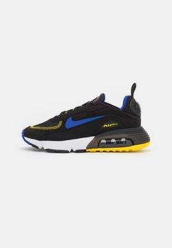 Nike Sportswear - AIR MAX 2090 - Sneakers laag - black/hyper blue/tour yellow/white