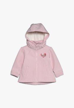 Guess - DETACHABLE HOOD JACKET BABY - Übergangsjacke - alabaster pink