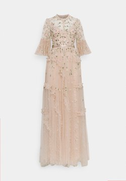 Needle & Thread - SHIMMER DITSY LONG SLEEVE GOWN - Ballkleid - pearl rose