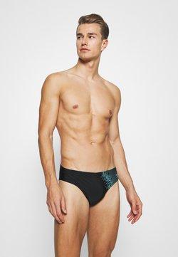 Speedo - Costume da bagno - black/aqua splash