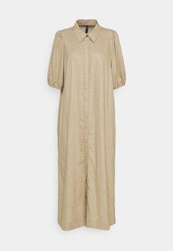 YAS - YASBECCA DRESS - Vestido camisero - chinchilla