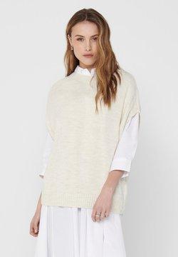 ONLY - WESTE - T-shirt basic - ecru