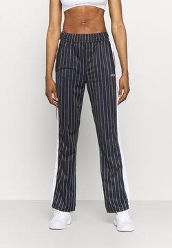 Fila - JAIMI PINSTRIPE TRACK PANTS - Jogginghose - black/bright white