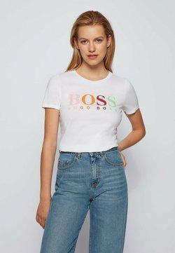 BOSS - ETIBOSS - T-Shirt print - white