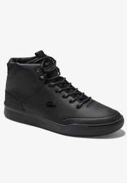 Lacoste - Sneaker low - blk/blk