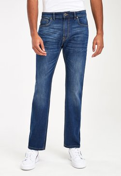Next - DARK BLUE SLIM FIT JEAN WITH STRETCH - Jeans Slim Fit - blue