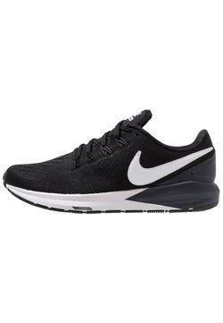Nike Performance - AIR ZOOM STRUCTURE  - Löparskor stabilitet - black/white/gridiron
