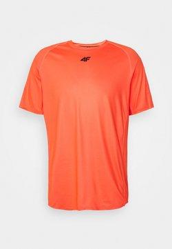 4F - HERREN FELIAS - Camiseta estampada - orange