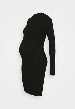 Anna Field MAMA - KNIT DRESS maternity - Vestido de tubo - black