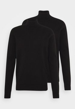 Pier One - 2 PACK - Pullover - black