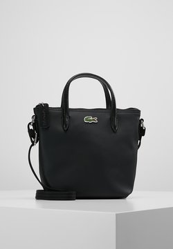 Lacoste - SHOPPING CROSS BAG - Handtasche - black