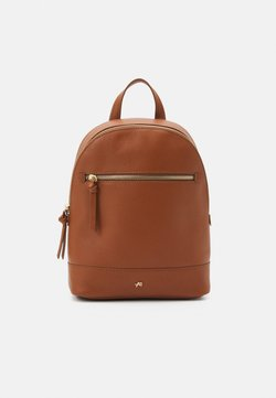 Anna Field - LEATHER - Tagesrucksack - cognac