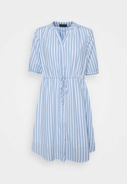 Selected Femme - SLFPERA ZENIA DRESS - Freizeitkleid - snow white/blue