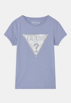 Guess - TODDLER  - T-shirt print - confidential blue