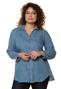 Ulla Popken - Overhemdblouse - blue denim