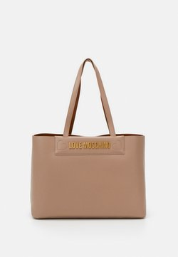 Love Moschino - THE NEW LETTERING - Handtasche - taupe