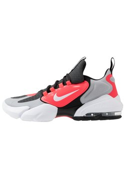 Nike Performance - AIR MAX ALPHA SAVAGE - Chaussures d'entraînement et de fitness - wolf grey/white/laser crimson/anthracite