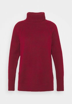 GAP - BRUSHED SUPERSOFT - Strickpullover - cinnabar red