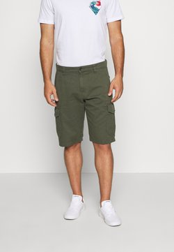 TOM TAILOR - Shorts - urban olive green