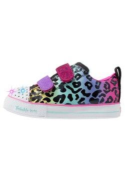 Skechers - SHUFFLE LITE - Sneakers laag - black/multicolor