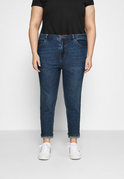 Simply Be - HIGH WAIST MOM JEANS - Relaxed fit -farkut - new vintage blue