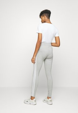 adidas Originals - ADICOLOR 3STRIPES SPORT INSPIRED TIGHTS - Legging - medium grey heather/white