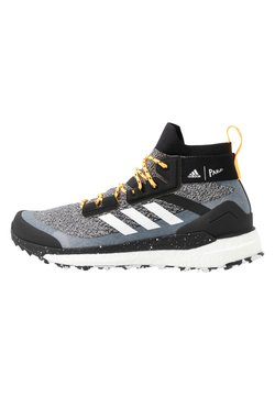 adidas Performance - TERREX FREE PARLEY - Outdoorschoenen - core black/footwear white/solar gold